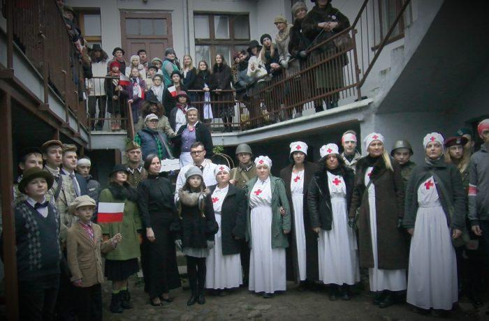 Święto Niepodległości w Sępólnie (video)