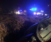 Zderzenie samochodu osobowego z ambulansem