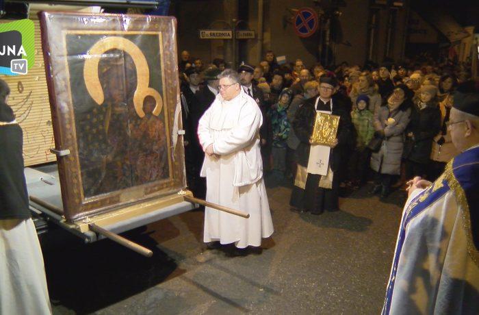 Peregrynacja Kopii Obrazu Matki Bożej Częstochowskiej  w Sępólnie Krajeńskim