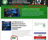Hakerzy na stronie więcborskiego ogólniaka (foto)