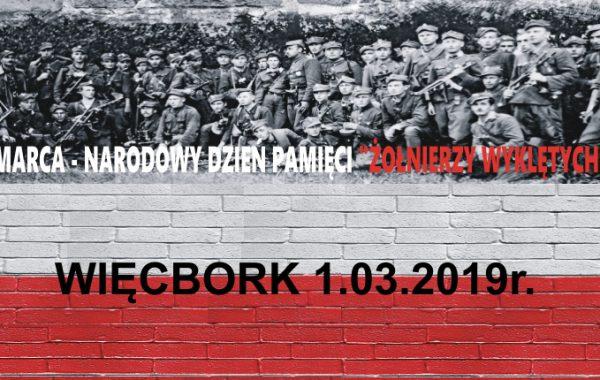 Dzień pamięci o Żołnierzach Wyklętych – Więcbork