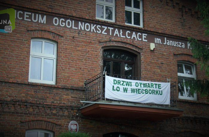 Drzwi otwarte w LO Więcbork (video)