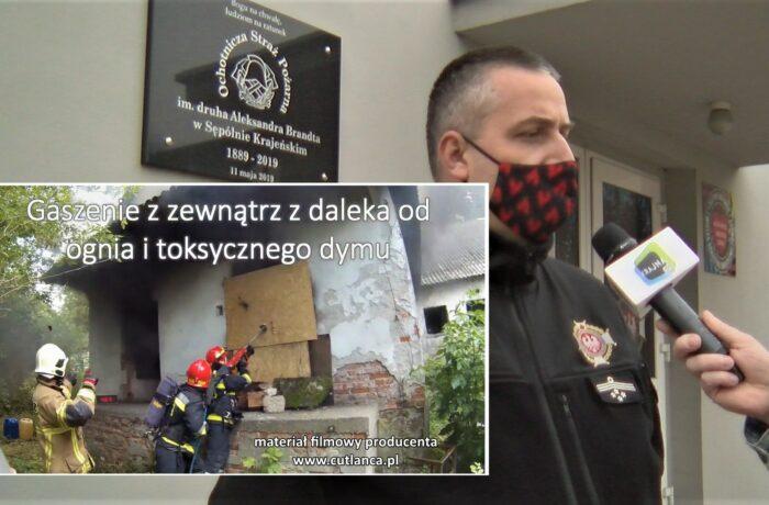 """CutLanca"" dla OSP Sępólno (video)"