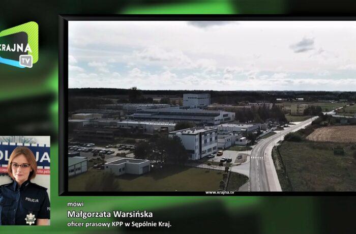 Atak nożem w Sępólnie (video)